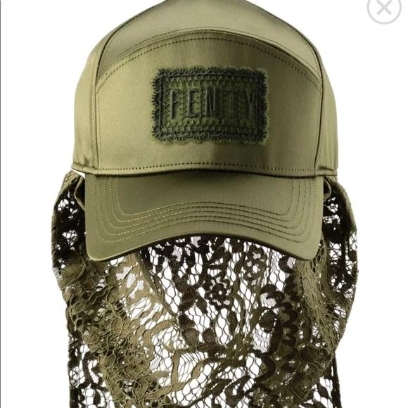 c587b45c2b4 Fenty (Rihanna) lace cap by  Puma